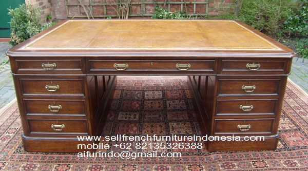 Exporter French Furniture In Indonesia Sell Partner Desk