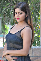 Pragya Nayan New Fresh Telugu Actress Stunning Transparent Black Deep neck Dress ~  Exclusive Galleries 011.jpg