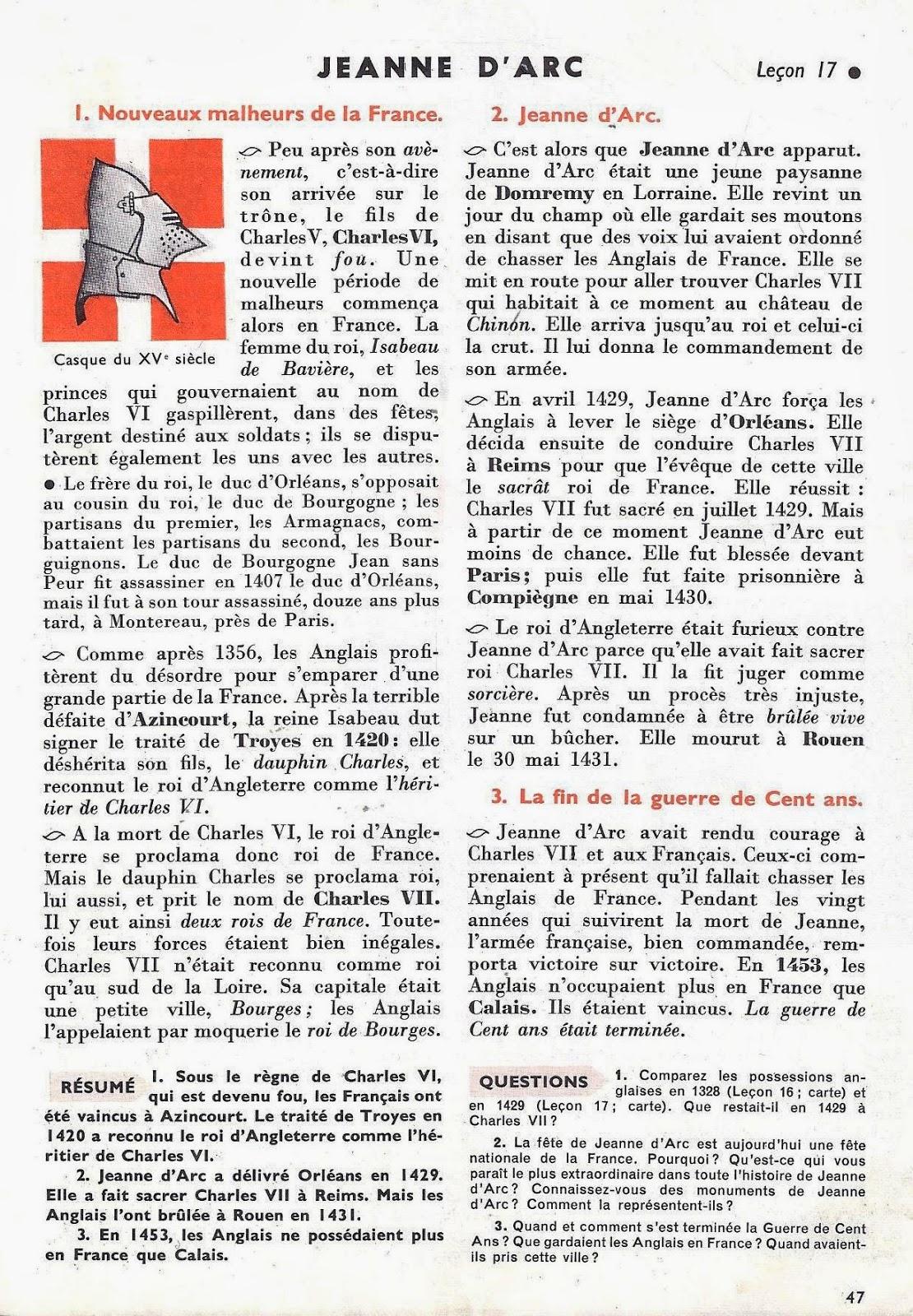 Chronologie abrégée de lhistoire de France EspaceFrancais