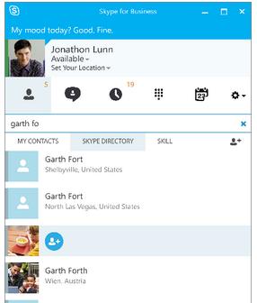 skype secretario
