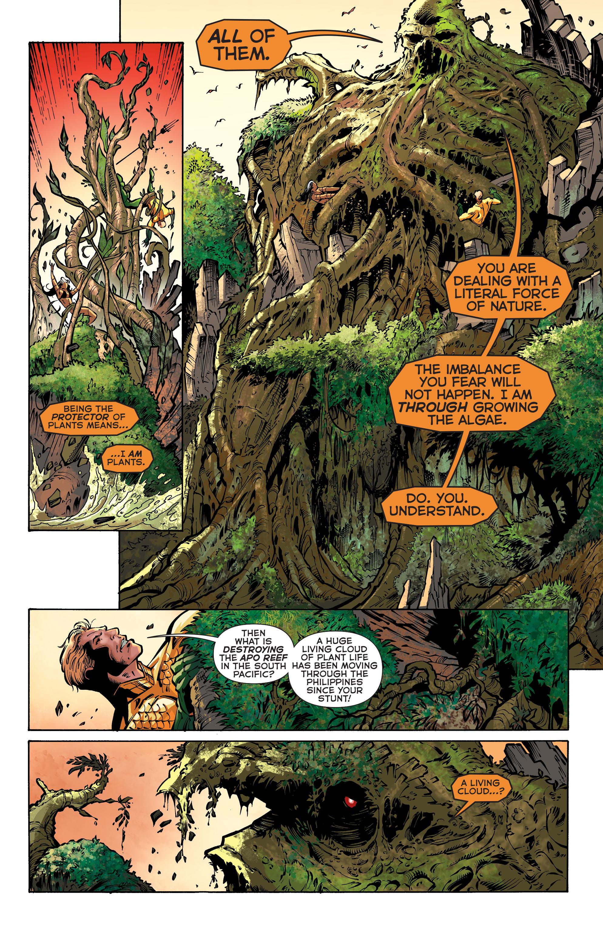 Read online Aquaman (2011) comic -  Issue #31 - 17