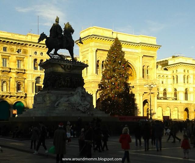 Il monumento equestre dedicato a Vittorio Emanuele II