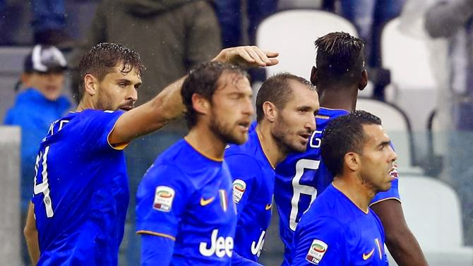 Juventus-Parma 7-0: Risultato firmato Tevez Llorente Morata Lichtsteiner.