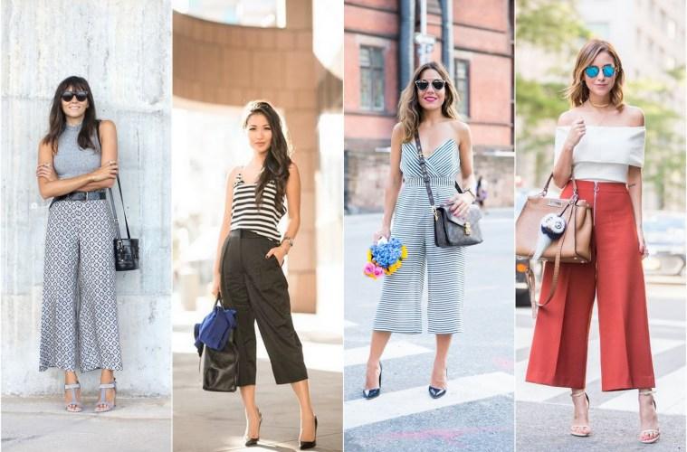 Tendência Primavera-Verão: Como usar Calça Pantacourt?