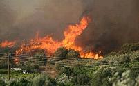 υψηλός ο κίνδυνος πυρκαγιάς την Τρίτη