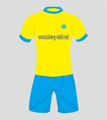 desain jersey format vector