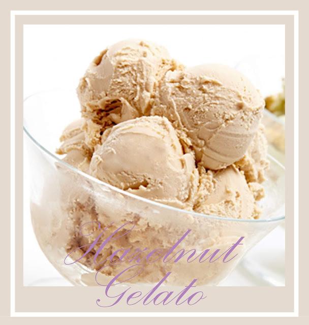 Hazelnut Gelato in Frozen dessert recipe.