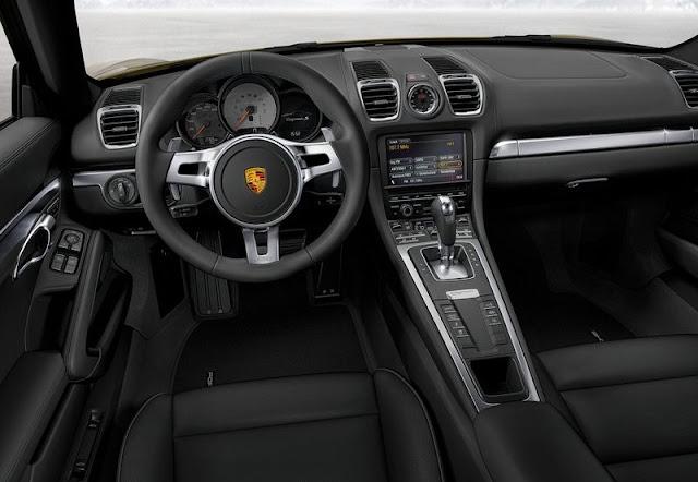 2014 Porsche Cayman Turbo Dashboard