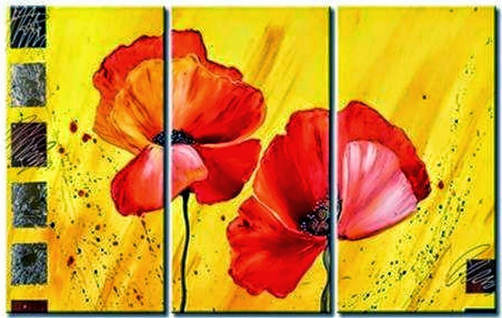 Cuadros pinturas arte ideas para cuadros decorativos - Manualidades cuadros modernos ...