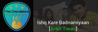 ISHQ KARE BARBADIYAAN Guitar Chords by | Ankit Tiwari