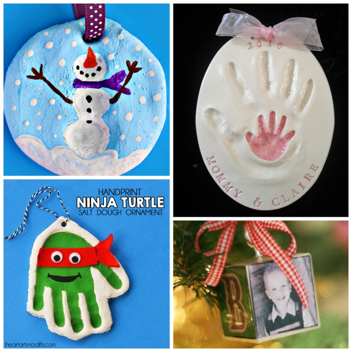40 KID-MADE KEEPSAKE ORNAMENTS- I LOVE these!
