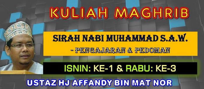 KULIAH MAGHRIB - SIRAH