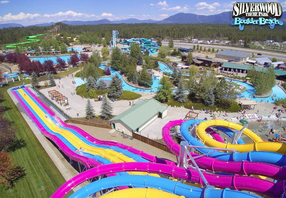Newsplusnotes Riptide Racer Joins Silverwood S Boulder Beach Waterpark