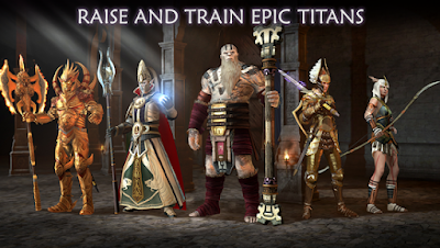 Download Dawn of Titans MOD APK+DATA 1.15.1 Unlimited Money