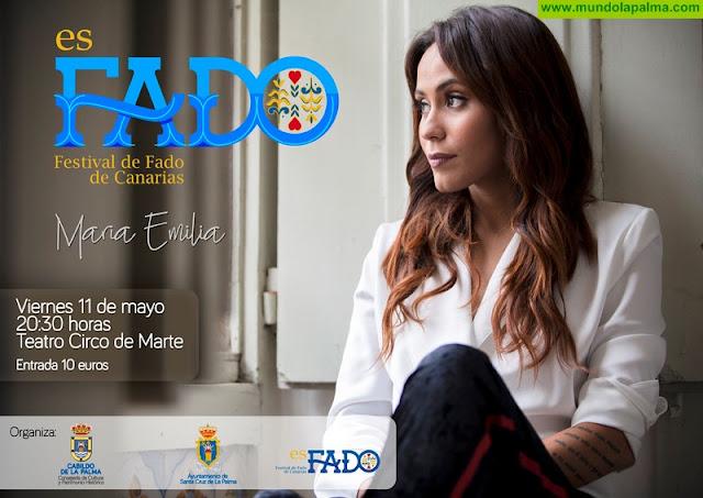 Concierto María Emilia, Festival de Fado de Canarias 2018 fado