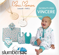 Logo Festa della Mamma: vinci gratis set Slumbersac per il tuo bambino e una collana Merci Maman