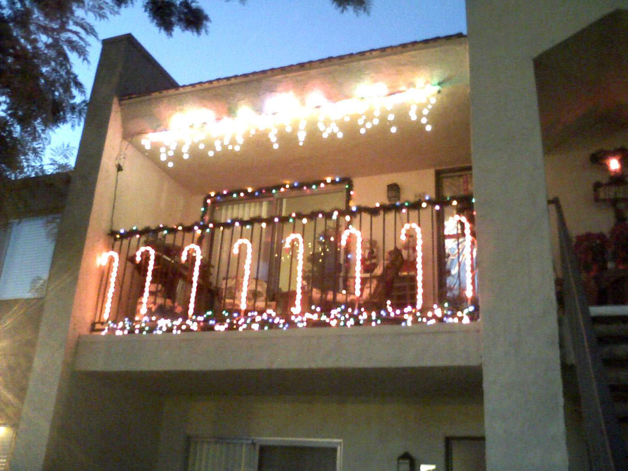 apartment christmas decorations patio psoriasisguru com