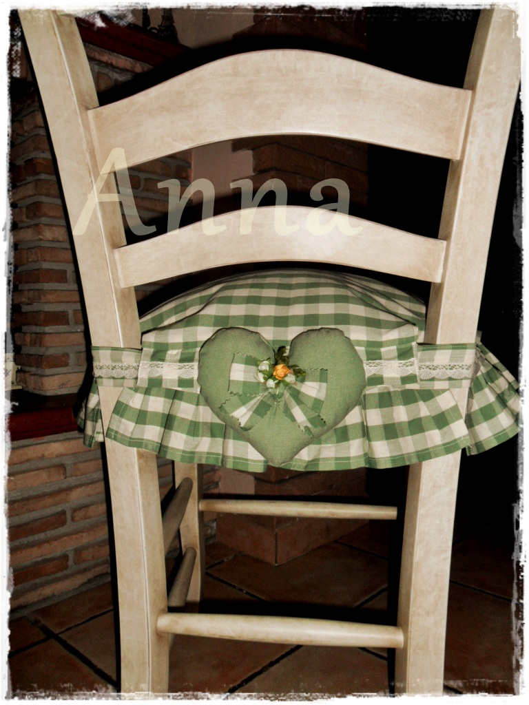Lecosemeravigliose shabby e country chic passions country for Cuscini sedie cucina country