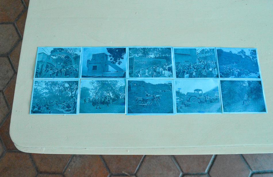 Registros de la peregrinación de la virgen de Lourdes