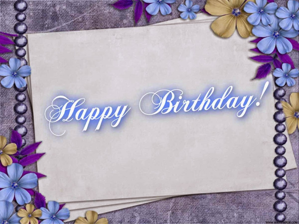 HD BIRTHDAY WALLPAPER : Birthday Greeting Cards