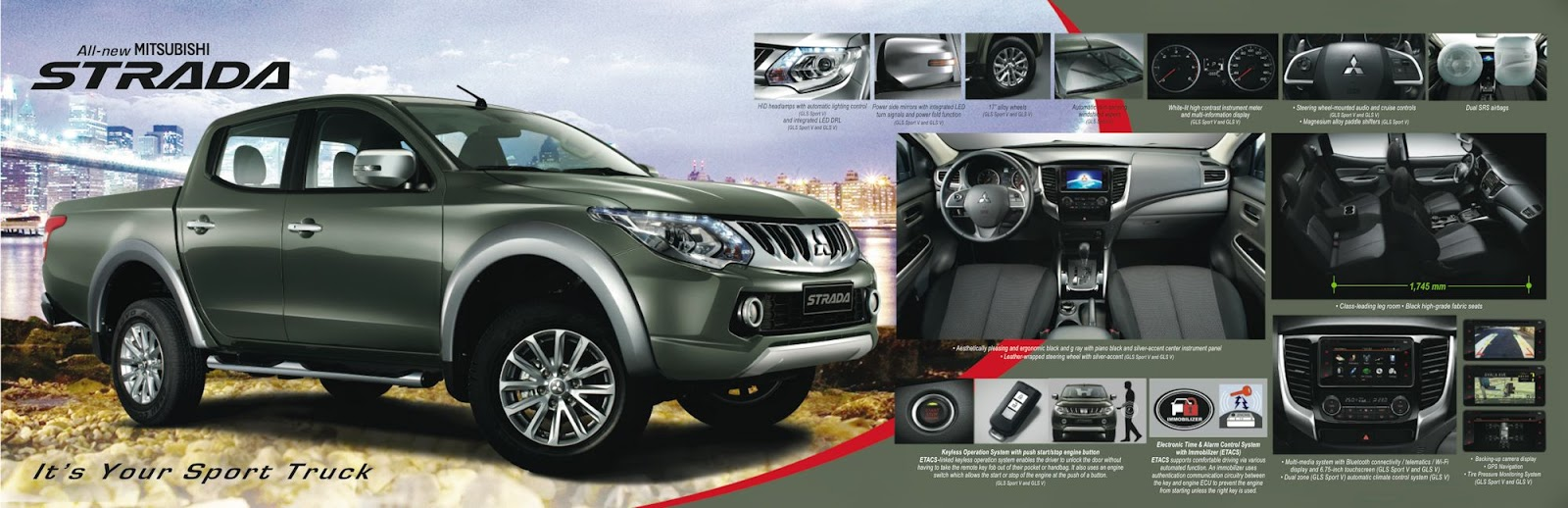 It will be exported to over 150 countries worldwide and is manufactured  solely at Mitsubishi Motors Thailand.