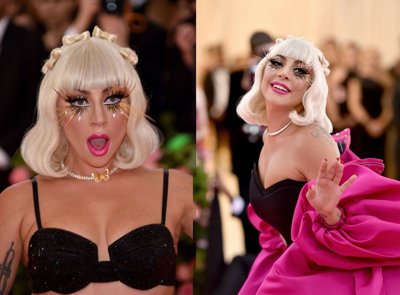o look de lady gaga na met gala de 2019