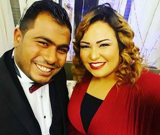 من هو شريف حسني زوج ويزو بطلة مسرح مصر
