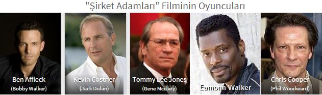 Filmler Şirket Adamları The Company Men oyuncu kadrosu