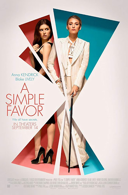 A Simple Favor 2018 movie poster