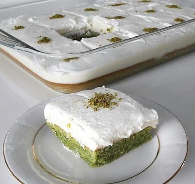 Ispanaklı Kek