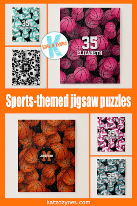 Personalized sports jigsaw puzzles by katzdzynes