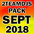 2TEAMDJS PACK SEPT 2018