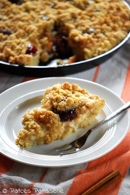 Patces Patisserie Saftiger Zwetschgen Streuselkuchen Mit Pudding