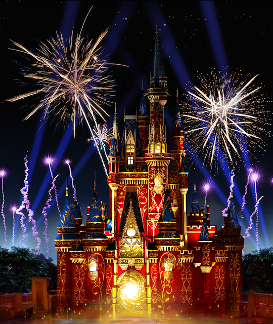 Novo show de fogos de artifício no Magic Kingdom