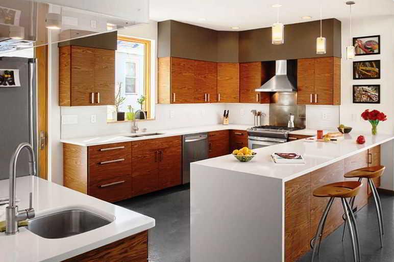 Contoh Desain Dapur Dan Ruang Makan Menyatu