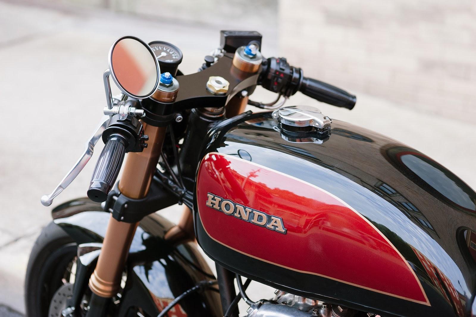 Racing Caf U00e8  Honda Cb 550 Caf U00e8 Racer By Cognito Moto