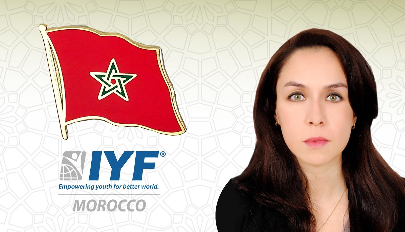 Sara Amar, IYF Representative in Morocco