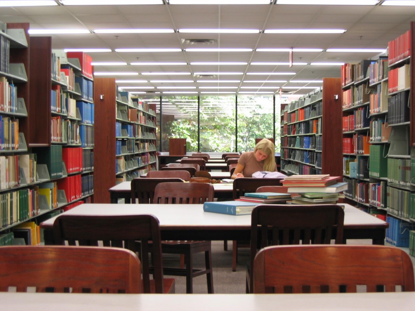 Swain Education Library Study Room