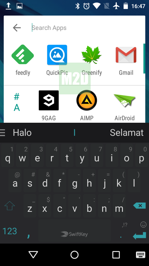 Search App Android M