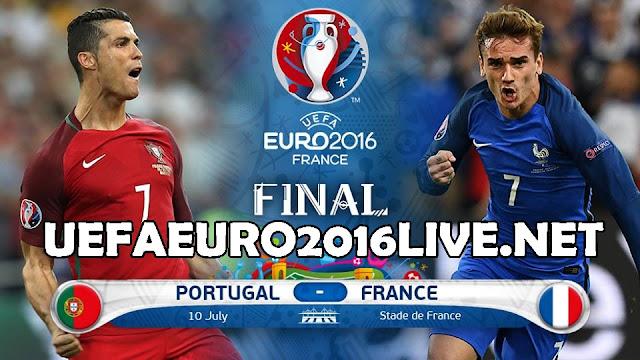 France vs Portugal Live Stream Euro 2016 Final