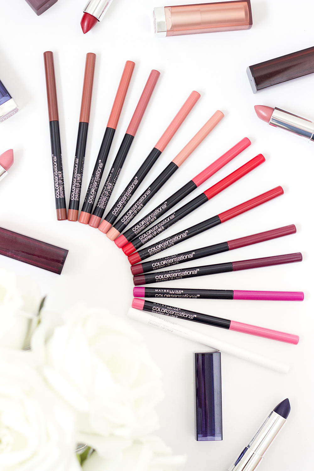 Maybelline Color Sensational Shaping Lip Liners