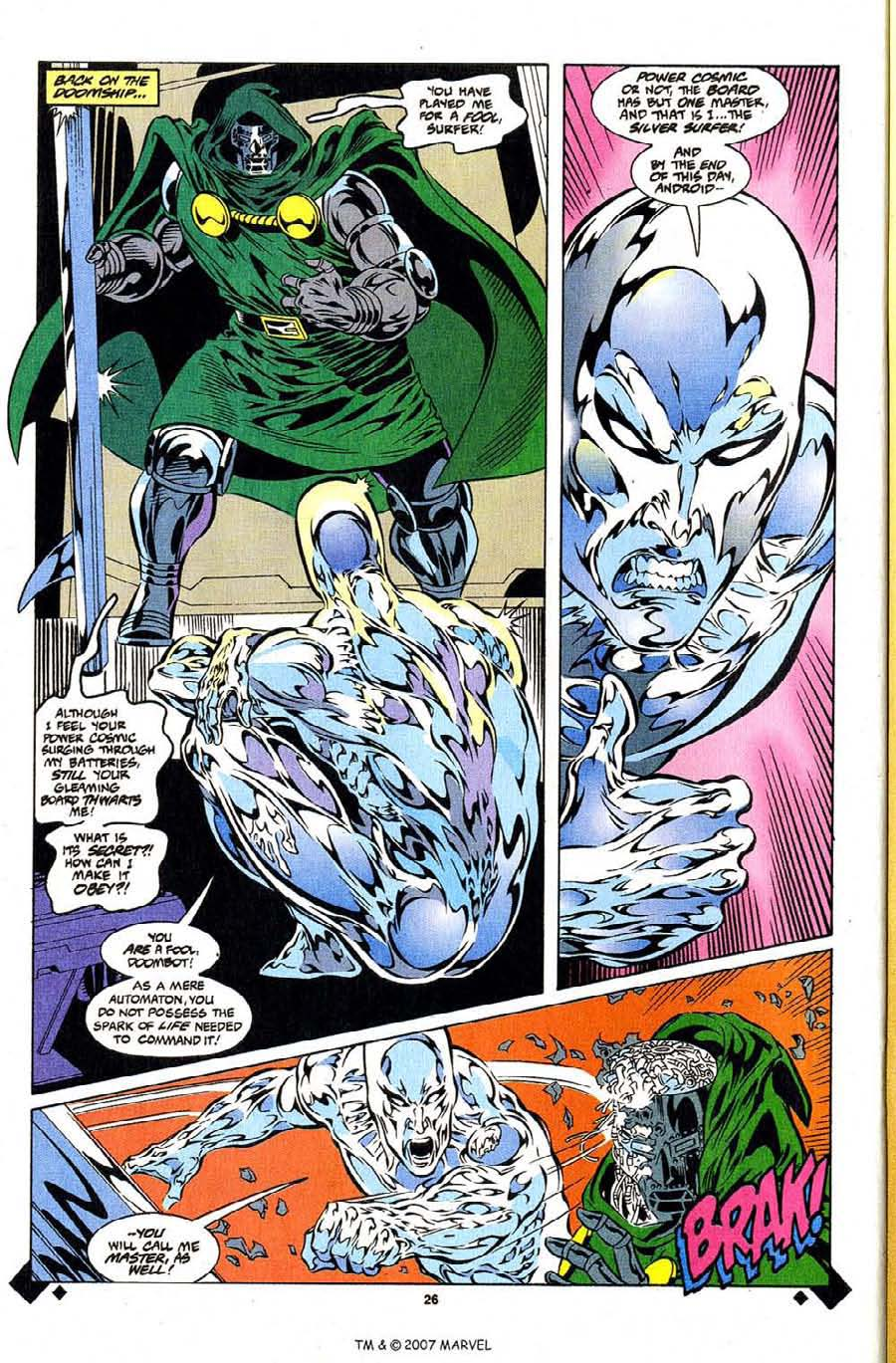 Read online Silver Surfer (1987) comic -  Issue #107 - 28
