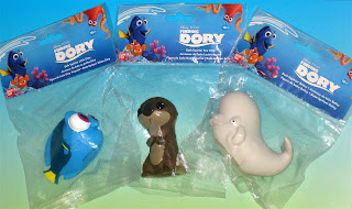 finding dory bath squirters