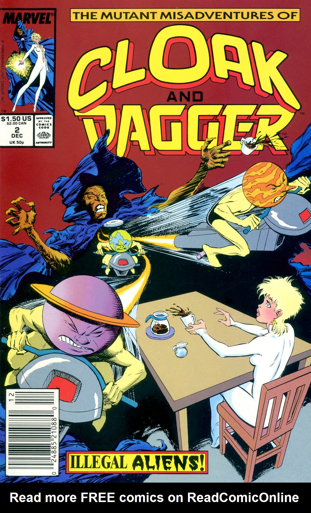 Cloak and Dagger (1990) 2 Page 1