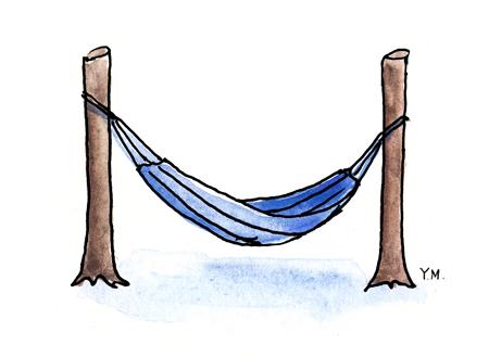 hammock by Yukié Matsushita
