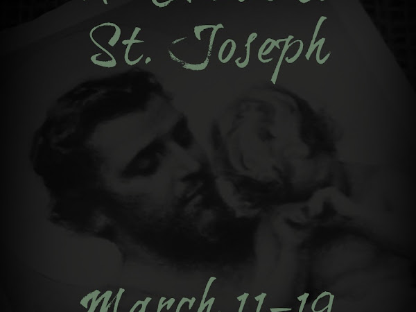The Annual Saint Joseph Novena