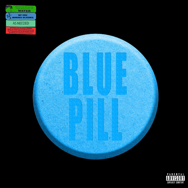 Metro Boomin - Blue Pill (feat. Travis Scott) - Single Cover