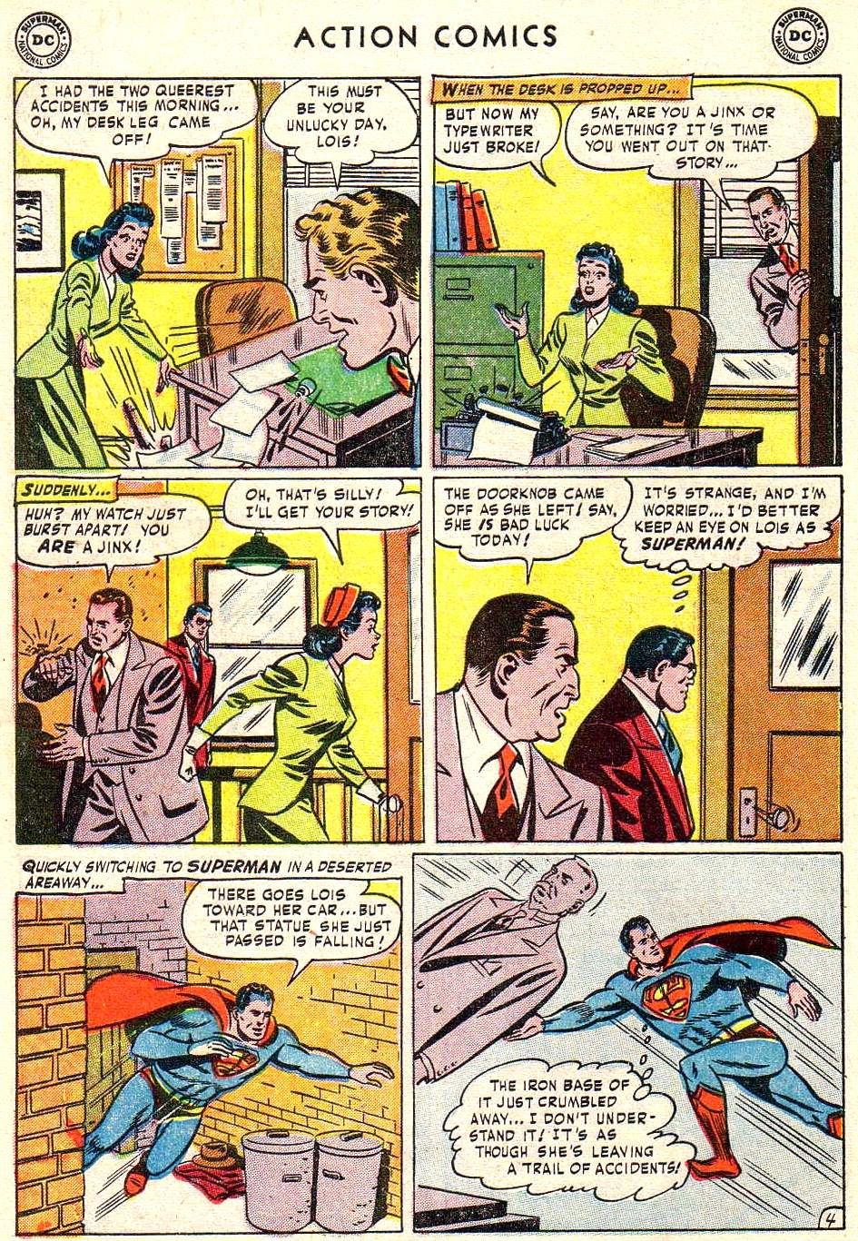 Read online Action Comics (1938) comic -  Issue #172 - 6