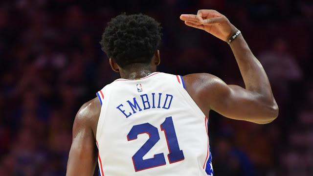 NBA : EMBIID, QUELLE SOIRÉE !