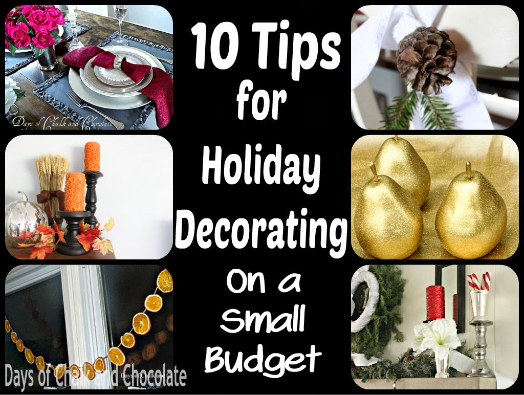 How I Decorate For Holidays On An Almost $0 Budget